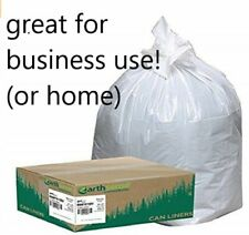 Commercial Trash Bags, 13 Gallon Trash Can Liners, Bulk Pack of 150 bags