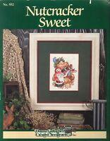 Nutcracker Sweet Cross Stitch Pattern 1992 Gallagher #932 Santa Elf