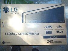 "LG V 24CAV37K-B 24"" Zero Client w/ Teradici Tera2321 & 512MB RAM"
