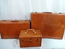 Soft Vintage Luggage Sets Travel Accessories | eBay