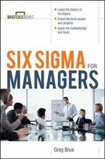 Briefcase Books: Six Sigma for Managers by Greg Brue (2002, Paperback)