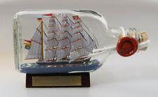 Passat Buddelschiff Flachmann 0,1 Liter ca. 13x7 cm Flaschenschiff