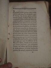 1787 LETTRES DE M NECKER GENEVOIS a M de CALONNE MINISTRE de la ROI