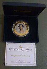 Islas Cook 5 dólares 2012 Jubileo de Diamante 65mm 5oz