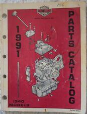 Harley-Davidson 1991 1340cc Parts Catalog