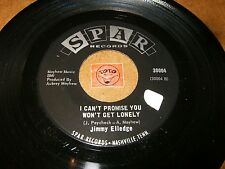 JIMMY ELLEDGE - KAY - I CAN'T PROMISE YOU WON'T GET LONELY  / LISTEN - COUNTRY