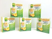 10 Emergen-C Nutrient Energy Shot Peach Mango Natural Caffeine Ginseng 11/21 NEW