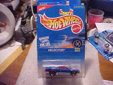 Hot Wheels Collector #471 Velociter Blue with 5 Spoke Wheels