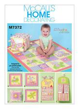 Mccalls patron M7372-nursery collection-neuf-taille osz