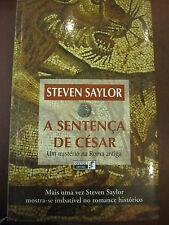 A SENTENÇA DE CÉSAR DE STEVEN SAYLOR EN PORTUGUÉS