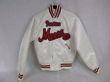 Vtg Womens White Nylon Jacket Moose Lodge Pla-Jac Size Small Embroidered Shirley