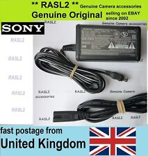Genuine Original SONY AC POWER Adapter AC-L15   ( AC-L10 AC-L100 A B ) DSC-F828