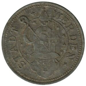 ALLEMAGNE - WERDEN - 10.2 - Monnaie de nécessité - 10 pfennig