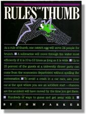 Rules of the Thumb: Hundreds of Ways to Guess and Get Away with It