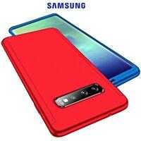 COVER per Samsung Galaxy S10/ Plus / Note 9 10 Fronte Retro 360° Protezione Full