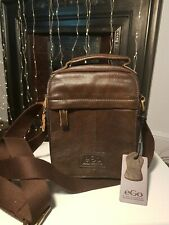 New Brown Leather Cross Body Bag for Men