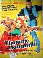 Plakat Kino L'Homme Tranquil John Wayne Maureen O'Hara - 120 X 160 CM
