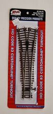 HO Scale Atlas Code 83 NS #560 Customline Turnout, Wye