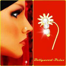 Bollywood Strass Nasenstecker Nasen Piercing  Indien Nath Model N-30