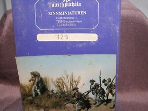 Ulrich Puchala Zinn Miniaturen 1:32 54mm INFANTRIE Regime Metal Figure Kit #729