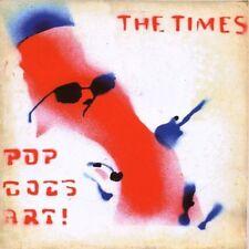 THE TIMES POP GOES ART CD ss UK 80S MOD PSYCH ED BALL bonus songs L@@K
