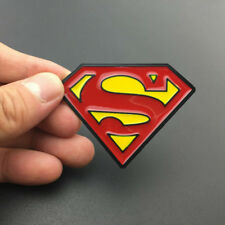 Metal Superman Logo Car Badge Emblem Decal Stickers For Honda Ford Dodge Chevy