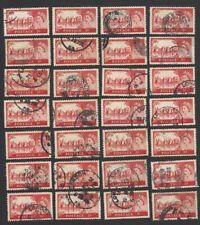 GB 1959 hgh values 2/6 & 5sh x 50 each (100)