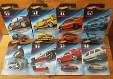 Hot Wheels 2018 HONDA 70TH ANNIVERSARY Complete Set of 8 - Factory Fresh (A+/A+)