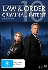 Law And Order - Criminal Intent : Season 10 (DVD, 2016, 2-Disc Set)