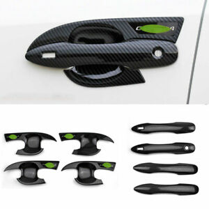 Fit for Toyota Corolla 2019-2021 Carbon Fiber Exterior Outside Door Handle Cover