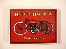 Harley-Davidson H-D Red Porcelain Ande Rooney Magnet