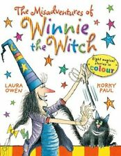 The Misadventures of Winnie the Witch-Laura Owen, Korky Paul, 9780192734617