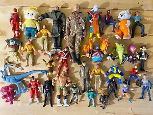 Vintage Action Figure Mixed Lot For Play