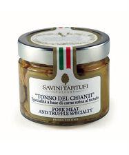 """Tonno del Chianti"" Savini Tartufi - Pork Meat and Truffle Specialty - 280g"