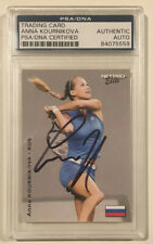 2003 Netpro ANNA KOURNIKOVA Signed Autographed Tennis Rookie Card PSA/DNA Russia