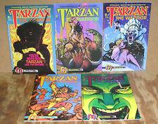 Tarzan the Warrior-5 Issue Mini-Series-Malibu-1992-Mark Wheatley, Neil Vokes