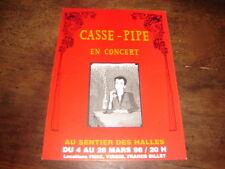 CASSE-PIPE - RARE CARTE POSTALE PROMO PART DES ANGES !!