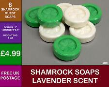 8  Ireland Irish Shamrock Lavender Scent Guest Soap Clover Leaf Celtic  ZS30