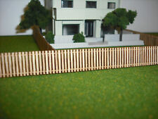 N Scale **Laser Cut** Custom Fence - 276 Scale Feet