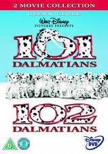 DISNEY 101 / 102 DALMATIANS LIVE ACTION  NEW SEALED GENUINE UK RETAIL DISNEY DVD