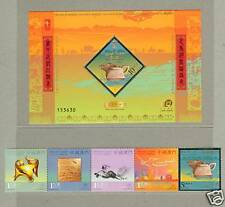 Macau Macao 2009 Lunar New Year of Ox S/S + Stamps