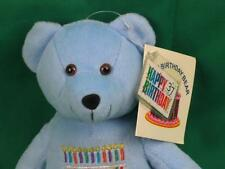 NEW HAPPY BIRTHDAY TO YOU BLUE TEDDY BEAR $.37 HAPPY BIRTHDAY STAMP USPS PLUSH