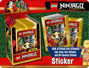 Lego Ninjago Legacy Sticker Serie 50 Tüten / 250 Sticker