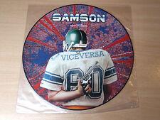 "Samson & Bruce Dickinson/Vice Versa/1986 Capitol Picture Disc 12""/Iron Maiden"
