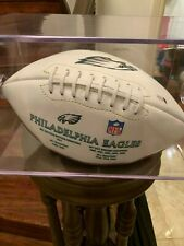 Philadelphia Eagles team ball signed by Aj Feely Beckett Authenticated