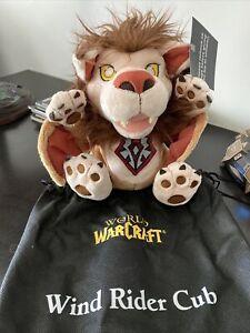 Blizzard Blizzcon 2014 World of Warcraft Horde Wind Rider Cub Plush W/bag NoCode