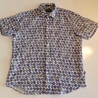 RODD & GUNN Men's Size 2XL Sports Fit Linen Short Sleeve Shirt Floral  - HM15