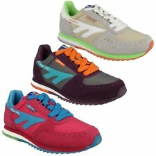 Leather Trainers Lace Up Athletic Shoes for Women