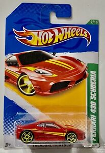 Treasure Hunts Ferrari 430 Scuderia, T-Hunt Hot Wheels 2012