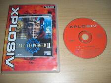 Civilisation call to Power II PC CD ROM XPL CIV civilisation 2-Rapide Post